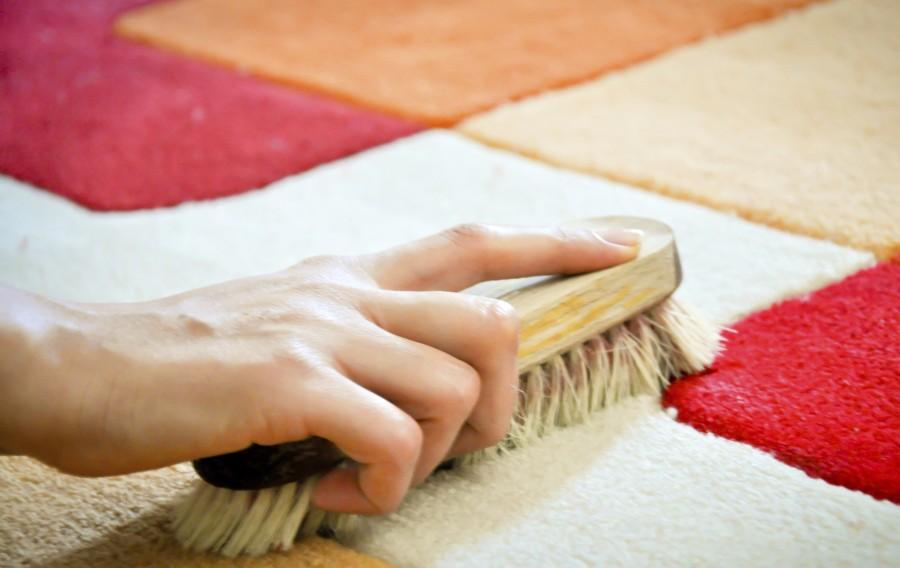 Как сделать чистку ковра